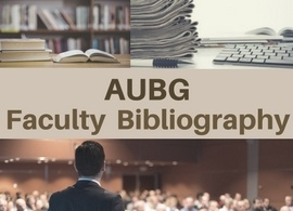 AUBG Faculty Bibliography