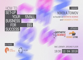 Set-Up Your Small Business for Big Success, by Nikola Tomov