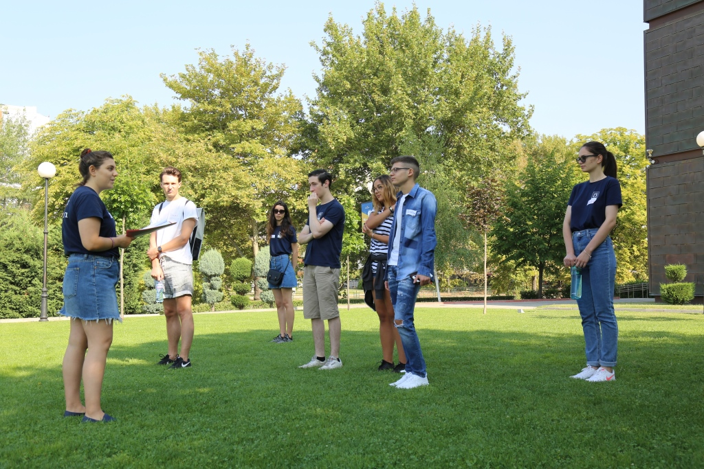 Orientation Week Introduces AUBG to New Students