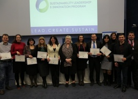 First Cohort of the Sustainability Leadership and Innovation Program Present Projects to Bring Lasting Change