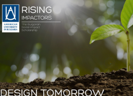 AUBG's Rising Impactors Scholarship to Support Young Change Makers of Bulgaria