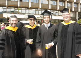 """Khafiz Kerimov ('14): """"I am most grateful for the mentors that I was lucky to meet at AUBG"""""""