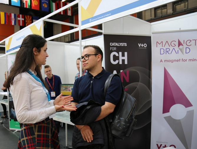 AUBG Job & Internship Fair 2019: A Record Number of Companies, a Record Number of Alumni