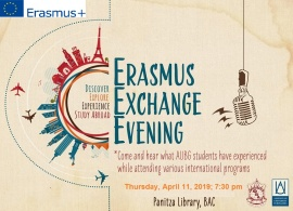 Erasmus Exchange Evening
