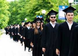 Bulgarian President, Minister of Economic Development of Kosovo Greet AUBG Class of 2019