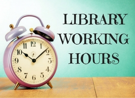 Panitza Library will be closed on June 13th and 14th