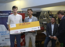 AUBG Students Win First Prize at Bulgaria Innovation Hackathon 2019