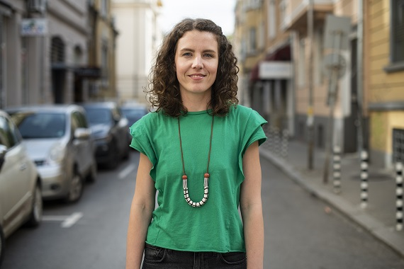 Svetla Baeva ('07): 'It's up to us to put forward the vision of an inclusive and just society'