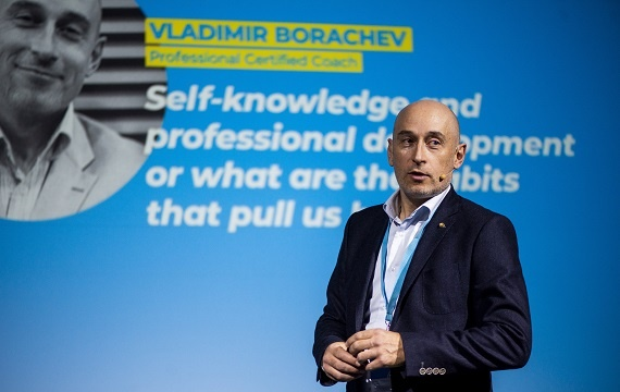 "Executive Coach and Leadership Trainer Vladimir Borachev ('95): ""Work with Humility, Ethics and Integrity"""