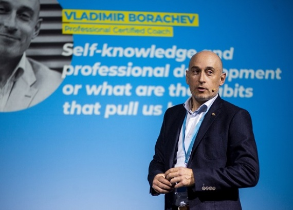 """Executive Coach and Leadership Trainer Vladimir Borachev ('95): """"Work with Humility, Ethics and Integrity"""""""