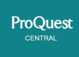 Welcome to ProQuest Central