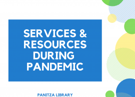 Panitza Library Important Announcement
