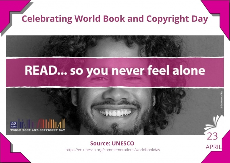 23 April - World Book and Copyright Day