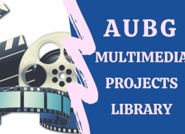 New AUBG Multimedia Projects Library