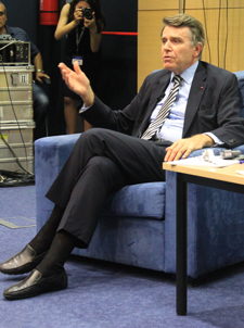 World-Renowned French Analyst Discusses EU Politics at AUBG