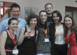 2002 Graduates Mark Anniversary with Gift to AUBG at Reunion