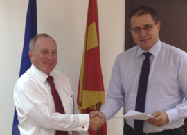 AUBG Signs Memorandum with the Macedonian Ministry of Education