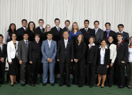 AUBG Student Presents Bulgaria in the UN