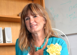 """Nancy Bartley: """"AUBG Students are some of the best I have ever had"""""""