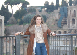"Katerina Lovtchinova '11: ""AUBG is Right in the Center of My Heart"""