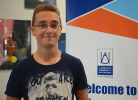 """Milan Pinalov, Bulgaria, 2014: """"I found out that AUBG is the answer"""""""