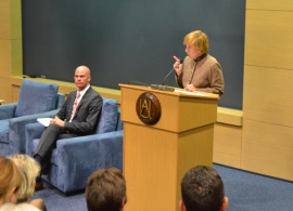 US Ambassador Marcie Ries Talks about the Rule of Law at AUBG