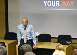 Banking Professional Gives Career Advice to AUBG Students