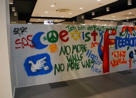 AUBG Joins the Rest of the World in Celebrating 25-Year Anniversary of the Fall of the Berlin Wall