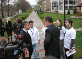 """""""Bridging Perspectives for a Shared Future"""" at AUBG"""