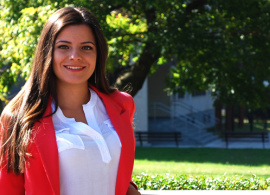 """Nelly Popova '16: """"AUBG gave me the opportunity to discover myself"""""""