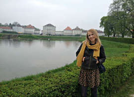 """Evelina Baronova '10: """"The keen ambition you find in AUBG students is really impressive"""""""