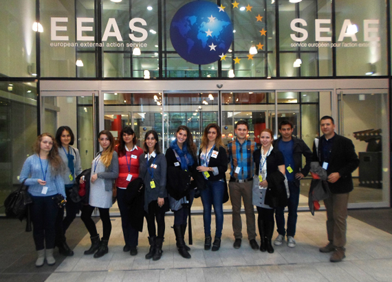 AUBG Students Explore Brussels