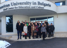 """AUBG EMBA Cohort 2015 – """"High level professionals– all in very good spirits"""""""