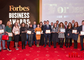 Alumni-Led Company Wins Forbes Best Startup Award