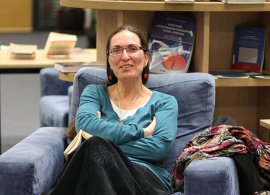 AUBG Professor Presents Her First Book of Poetry
