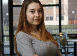 """Dimana Doneva, Publications and Website Coordinator:  """"There is amazing stuff happening at AUBG"""""""