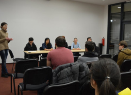 JMC Students Discuss Professional Internship Opportunities