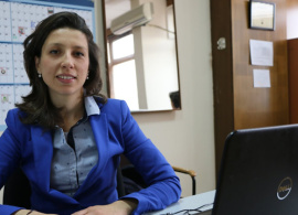 "Alexandra Zasheva, Annual Giving Coordinator: Feeling ""appreciated"" at home"