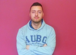 "Stoyan Mitov, Admissions Counselor:  ""AUBG is the best and most impressive organization around"""