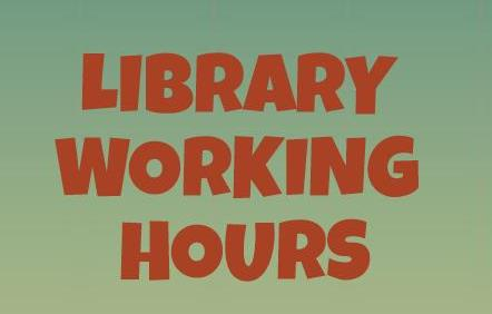 Panitza Library Working Hours - September 2015