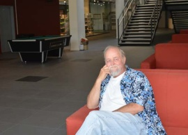"""Professor Ronald Wiginton: """"I was attracted to the contemporary focus of the JMC curriculum"""""""