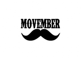 MOVEMBER at Panitza Library