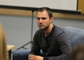 """Eftim Eftimov ('08): """"90 percent of my closest friends now in Sofia are from AUBG"""""""