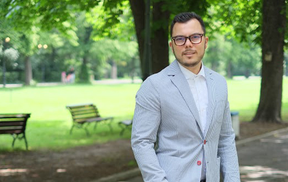 """Max Baklayan ('08): """"AUBG is full of smart and colorful people"""""""