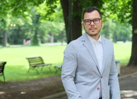 "Max Baklayan ('08): ""AUBG is full of smart and colorful people"""