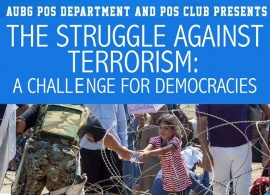 Presentation: The struggle against terrorism: a challenge for democracies, Feb.10, 2016
